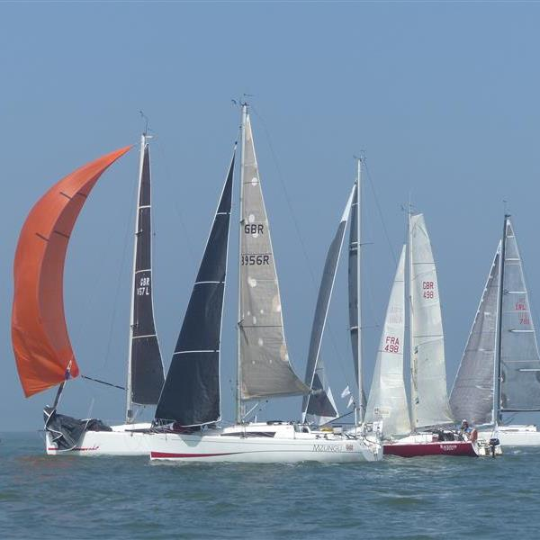 Start of IS Race 1