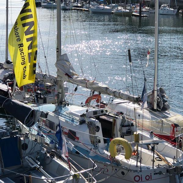 Oi Oi wins the Cowes to Weymouth race